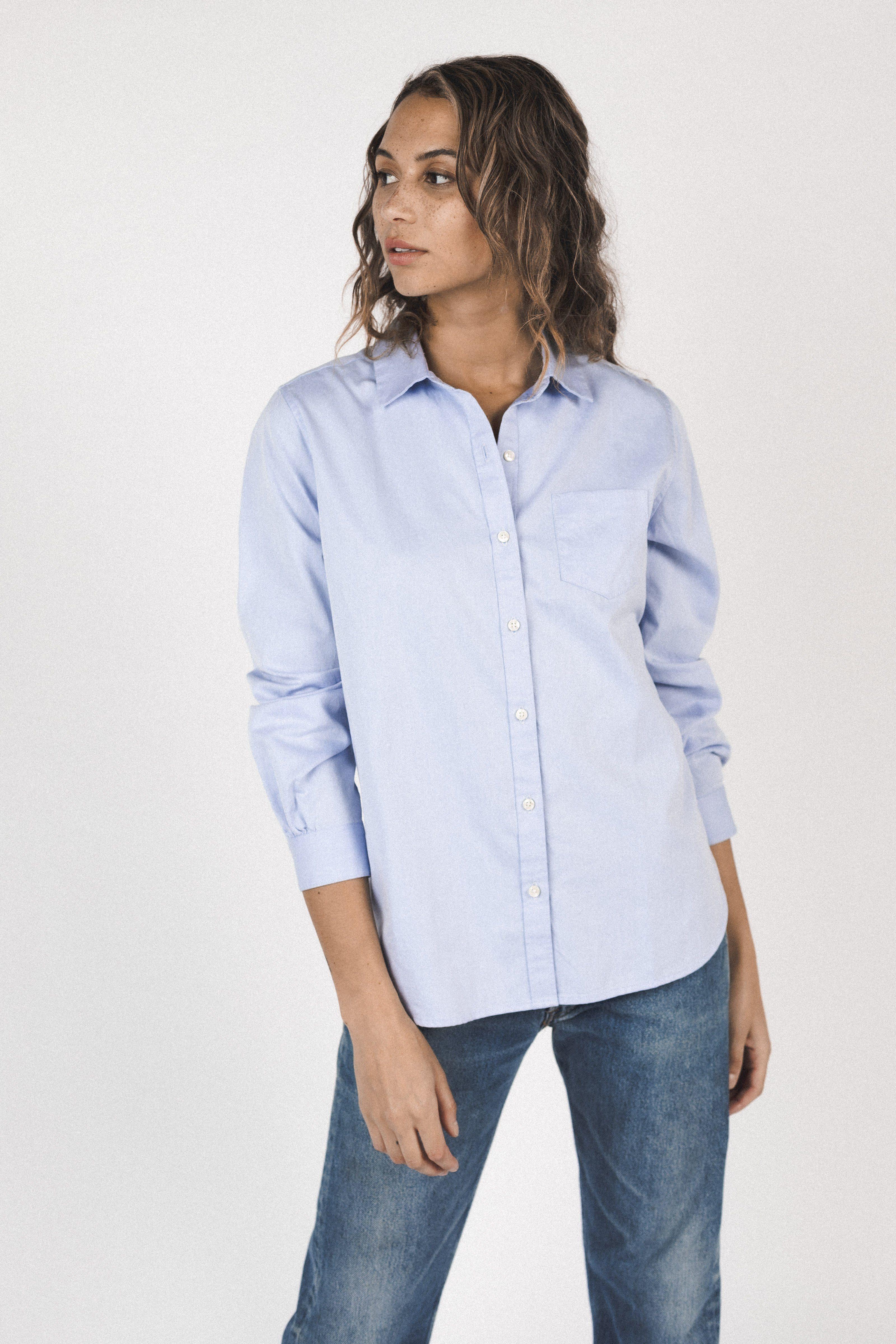 Grace Classic Shirt LIGHT BLUE by Trovata - 1