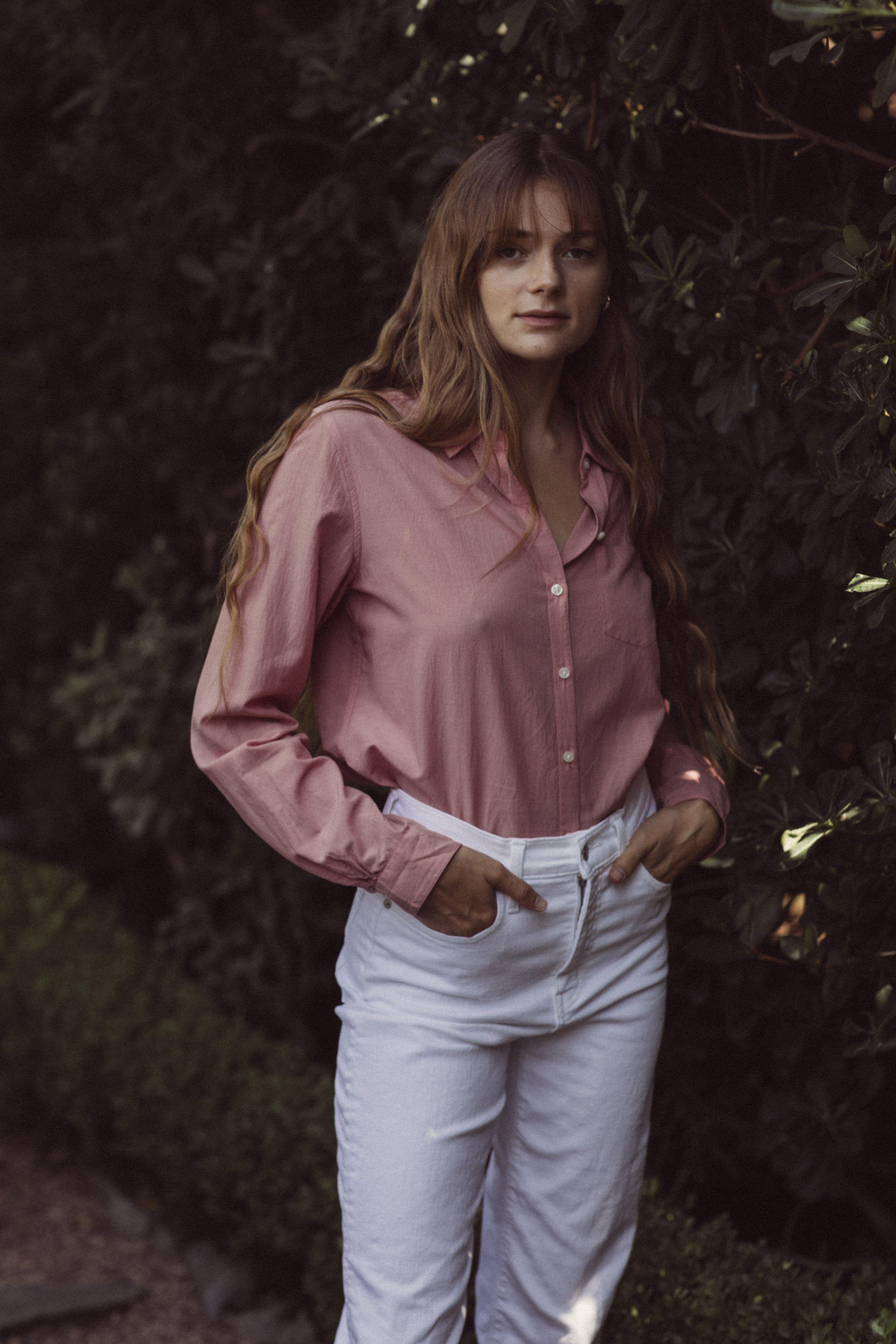 Grace Classic Shirt MAUVE by Trovata - 3
