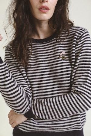Ryann Sweater NAVY STRIPE by Trovata - 2
