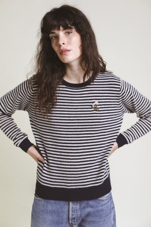 Ryann Sweater NAVY STRIPE by Trovata - 1