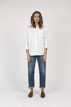 Grace classic shirt WHITE by Trovata - 2