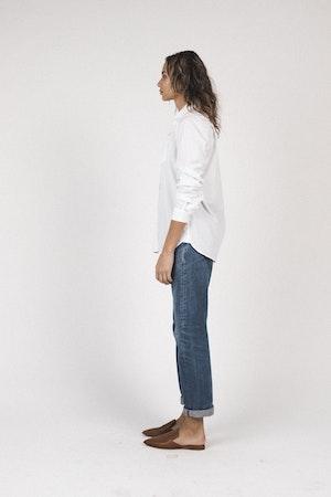 Grace classic shirt WHITE by Trovata - 4