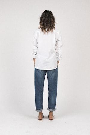 Grace classic shirt WHITE by Trovata - 3