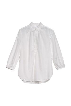 Sara henley shirt WHITE by Trovata - 1