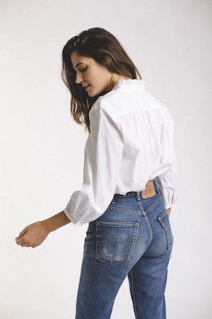 Sara henley shirt WHITE by Trovata - 3