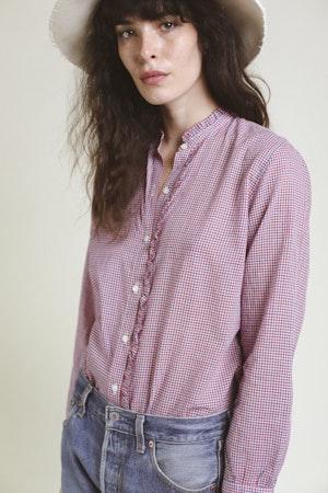 Helena Shirt RD/WHT/NVY MINI CK by Trovata - 2