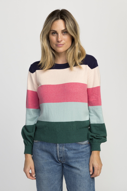 Stella sweater MULTI  STRIPE by Trovata - 2