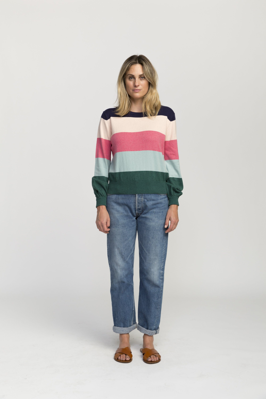 Stella sweater MULTI  STRIPE by Trovata - 5