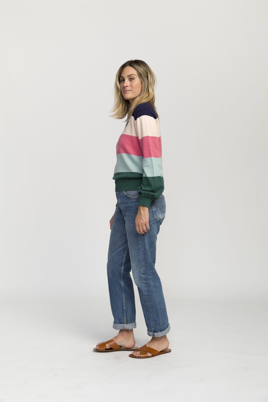 Stella sweater MULTI  STRIPE by Trovata - 4