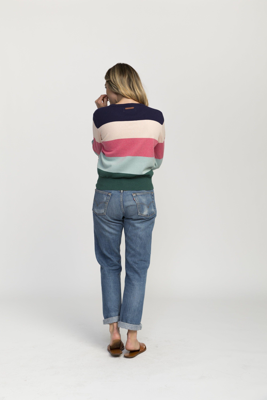 Stella sweater MULTI  STRIPE by Trovata - 3