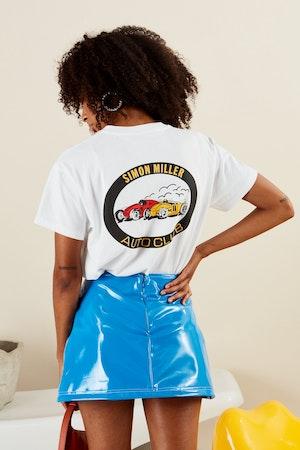 AUTO CLUB TEE IN STREET RACE PRINT by Simon Miller - 3