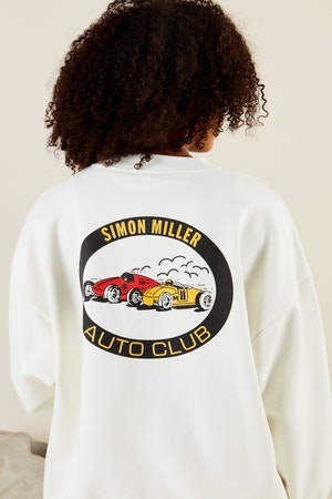 AUTO CLUB SWEAT IN STREET RACE PRINT by Simon Miller - 5