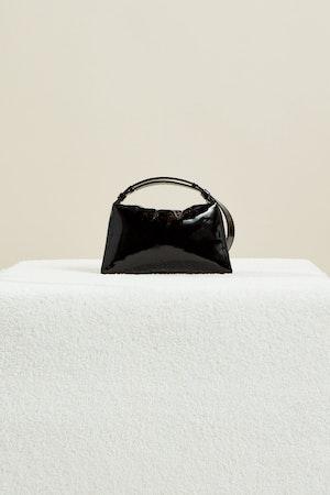 Vegan Mini Puffin in Black Patent by Simon Miller - 2