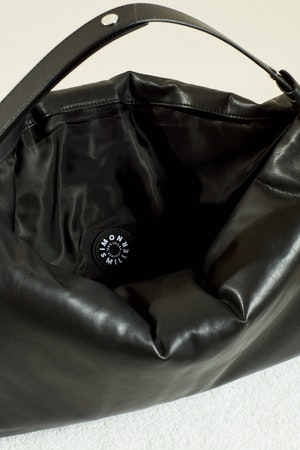 Vegan Large Puffin in Black by Simon Miller - 3
