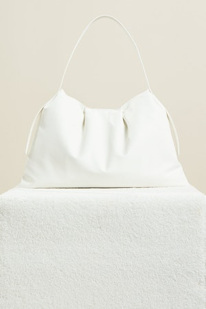 Vegan Puffin Tote in White by Simon Miller - 2