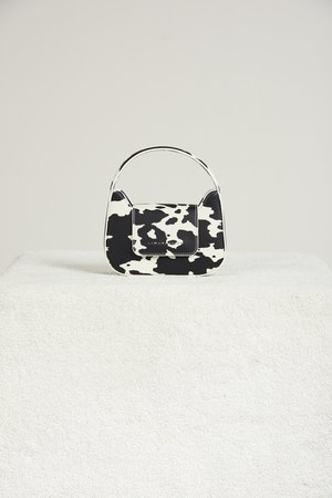 Vegan Mini Retro Bag in Mod Cow Print by Simon Miller - 1