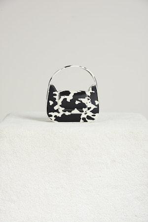 Vegan Mini Retro Bag in Mod Cow Print by Simon Miller - 2