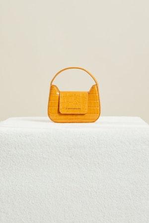 Mini Retro Bag in Sunset Orange by Simon Miller - 2