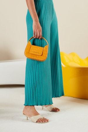 Mini Retro Bag in Sunset Orange by Simon Miller - 4