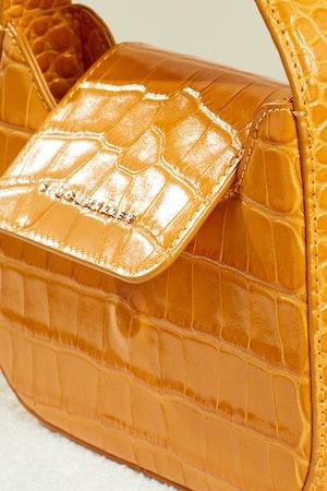 Mini Retro Bag in Sunset Orange by Simon Miller - 5
