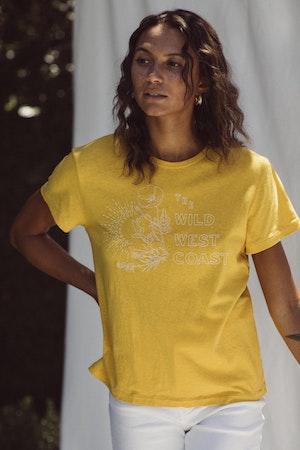 Jett T-Shirt GOLDENROD WWW by Trovata - 2