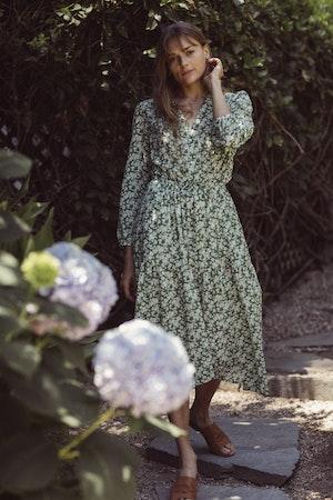 Ainsley Dress GREENBRIAR FLORAL by Trovata - 3
