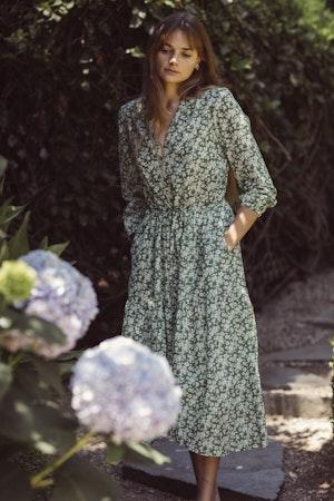 Ainsley Dress GREENBRIAR FLORAL by Trovata - 1
