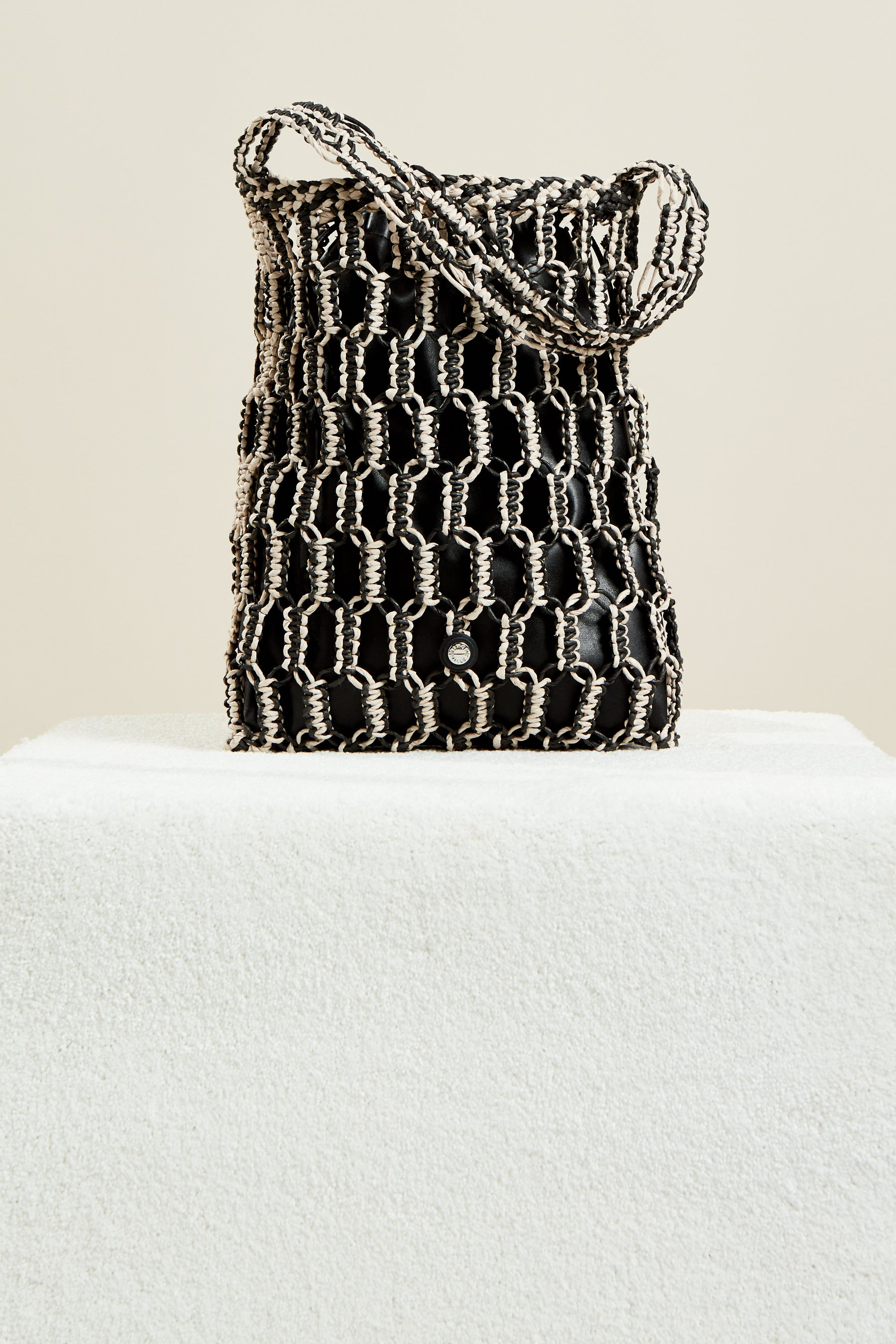 Tiki Tote in Black + Cliff by Simon Miller - 1