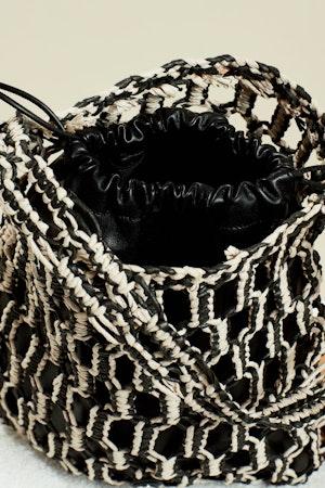 Tiki Tote in Black + Cliff by Simon Miller - 5