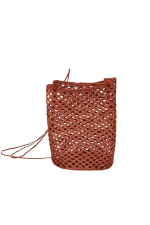Turi straw shoulder bag by Zonarch - 1