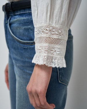 EVIE EMBROIDERED TOP by Nili Lotan - 5