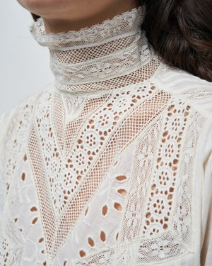 EVIE EMBROIDERED TOP by Nili Lotan - 6