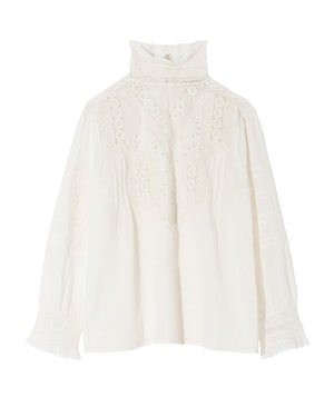EVIE EMBROIDERED TOP by Nili Lotan - 1