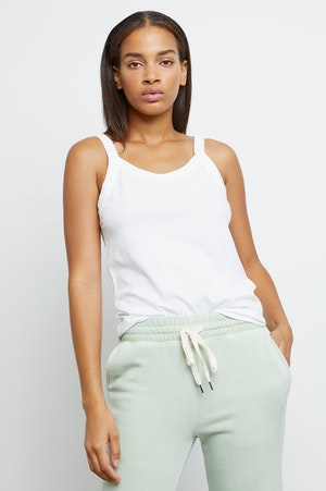 THE FITTED TANK - IVORY by Rails - 6
