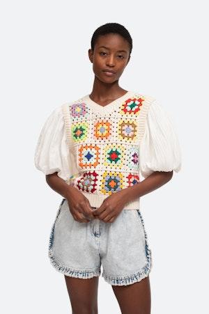 Gabriela Sweater by Sea - 1
