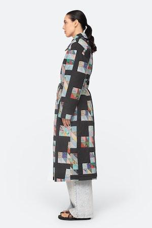 Tilia Coat by Sea - 4