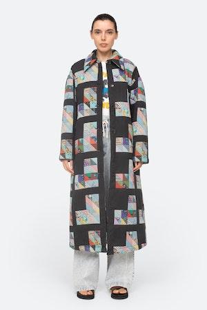 Tilia Coat by Sea - 5