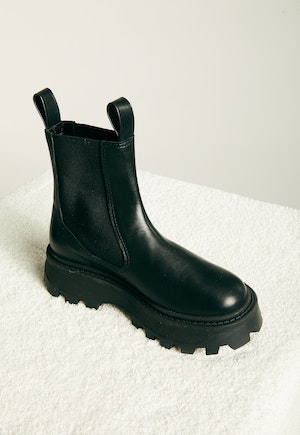 Scrambler Boot in Black by Simon Miller - 2