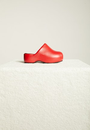 Vegan Bubble Clog in Retro Red by Simon Miller - 1