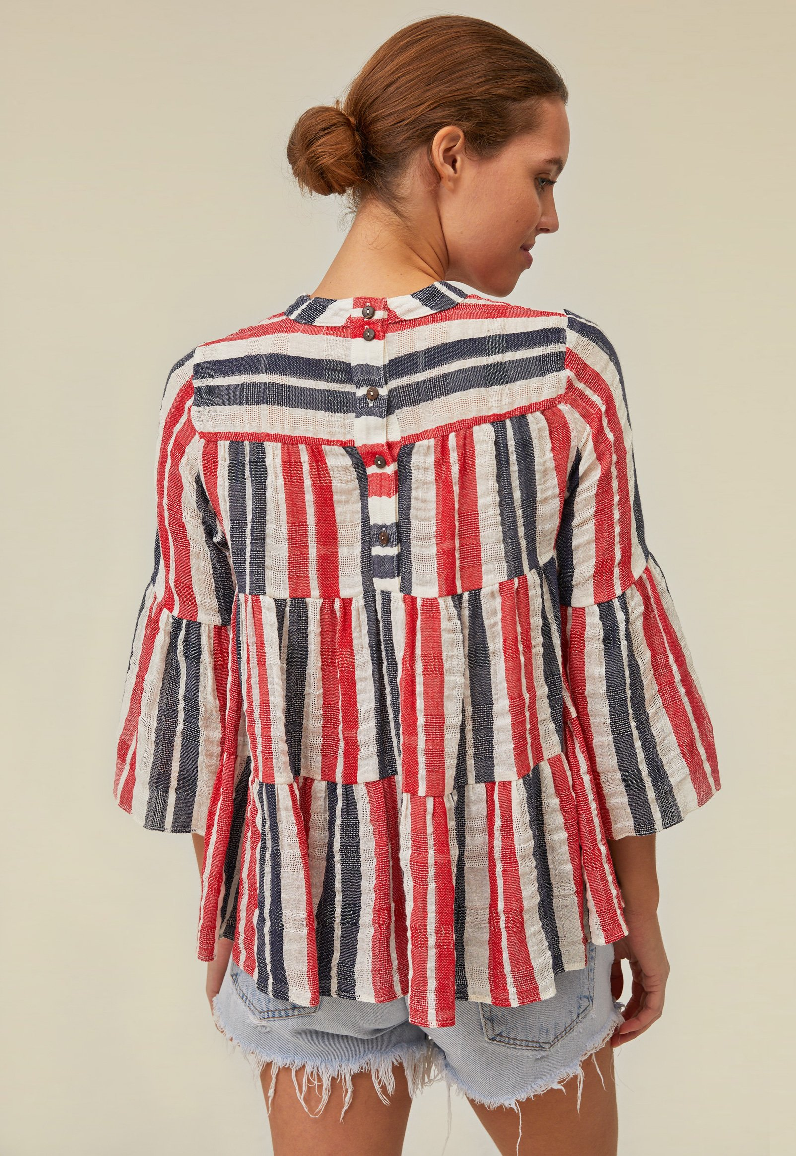 layer blouse by Warm - 2