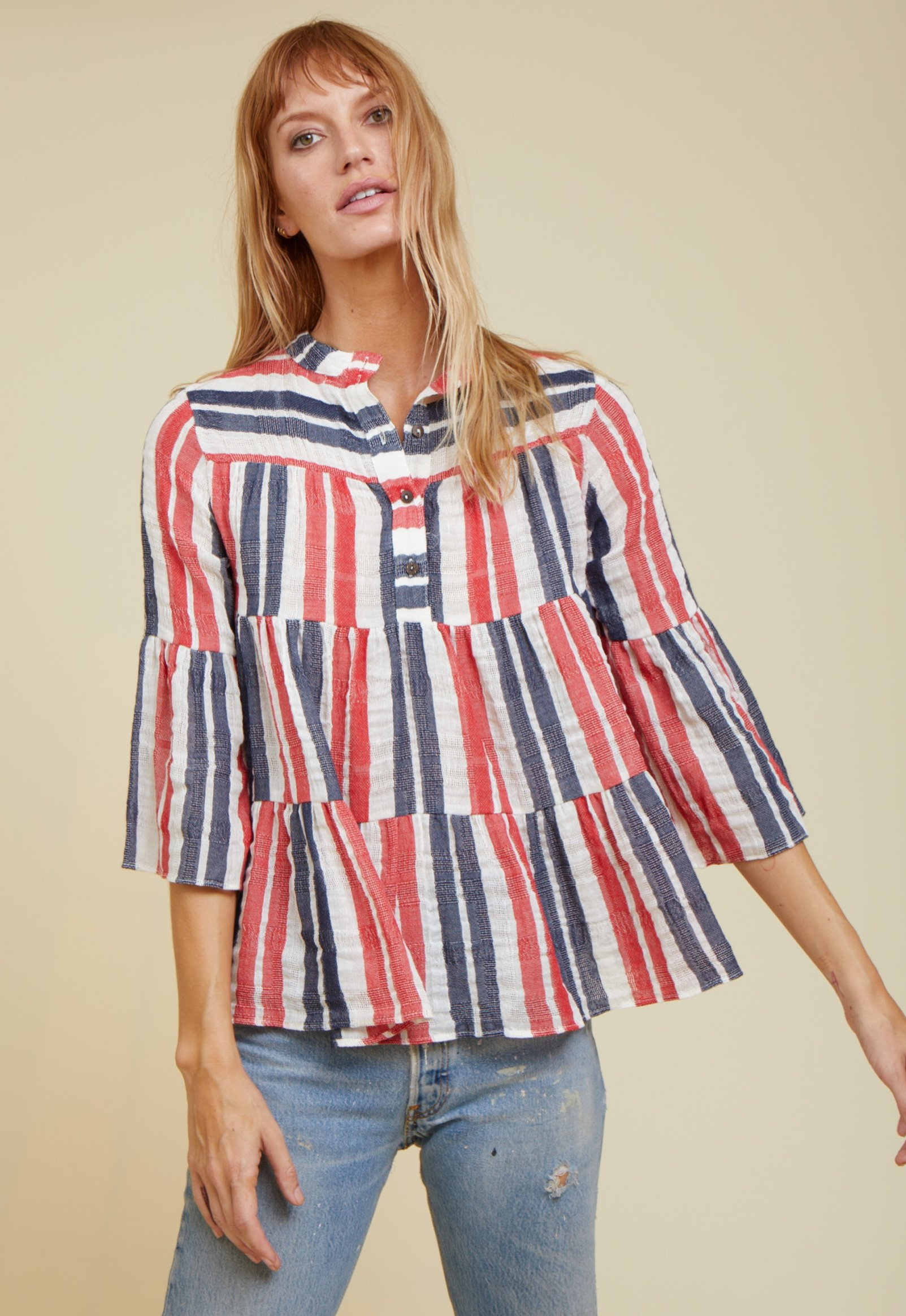 layer blouse by Warm - 3