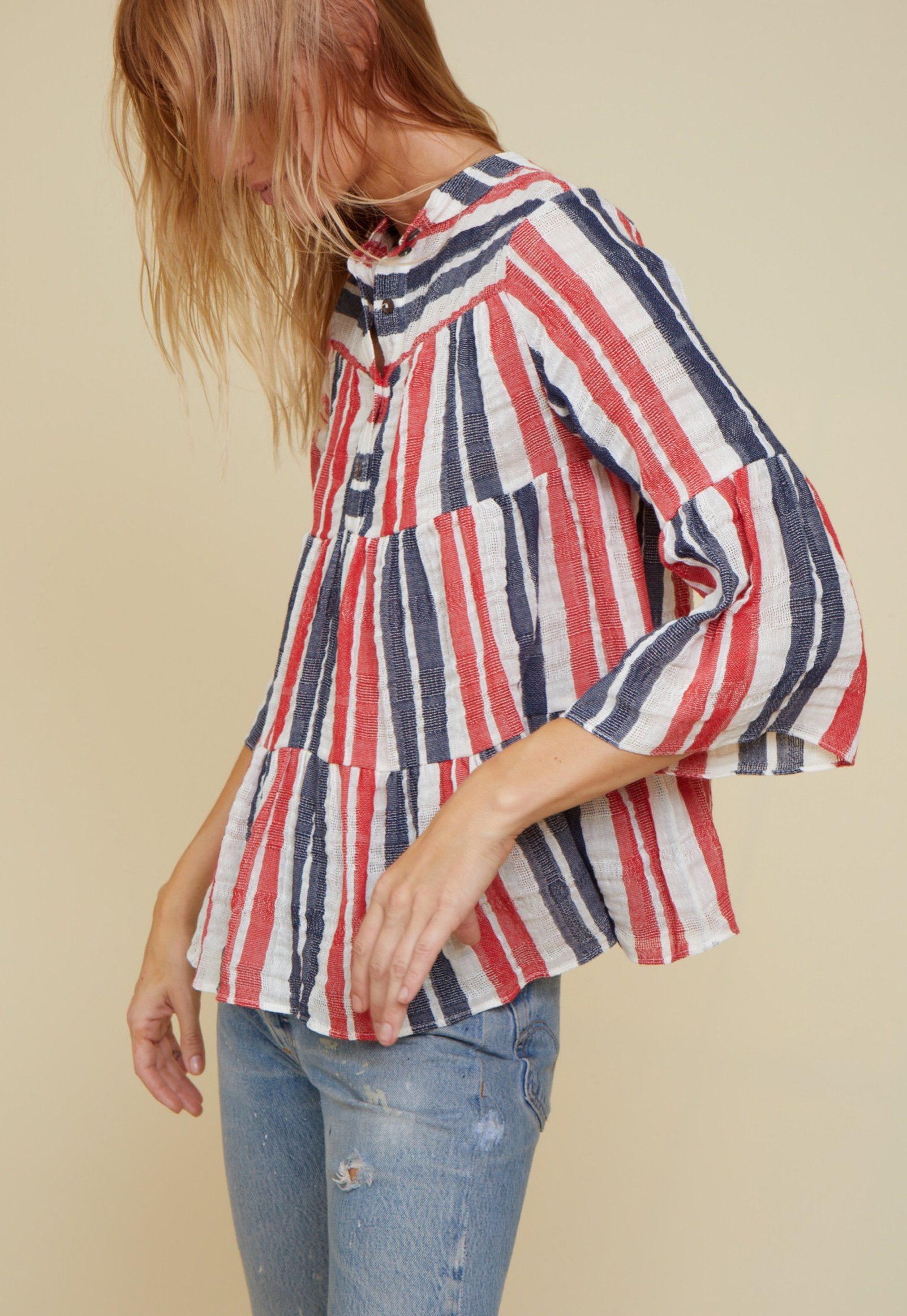 layer blouse by Warm - 5