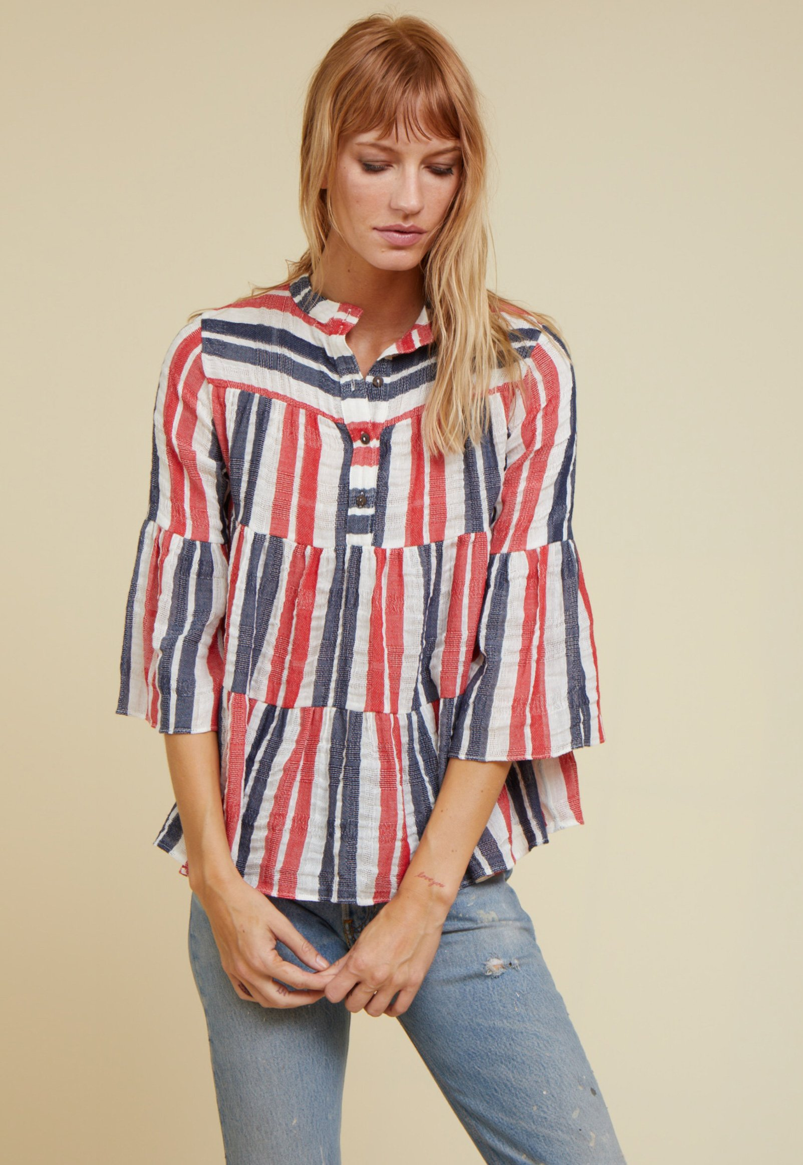 layer blouse by Warm - 7