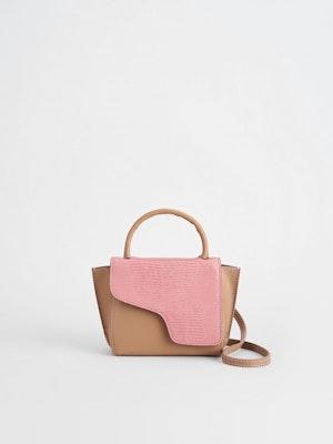 Montalcino Candy Pink Mini handbag by ATP Atelier - 1