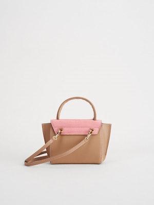 Montalcino Candy Pink Mini handbag by ATP Atelier - 2