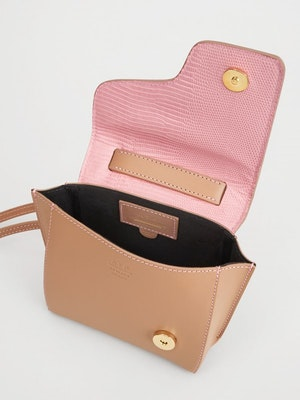 Montalcino Candy Pink Mini handbag by ATP Atelier - 3