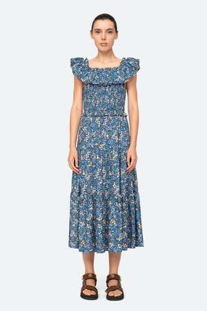 Lissa Ruffle Dress by Sea - 1