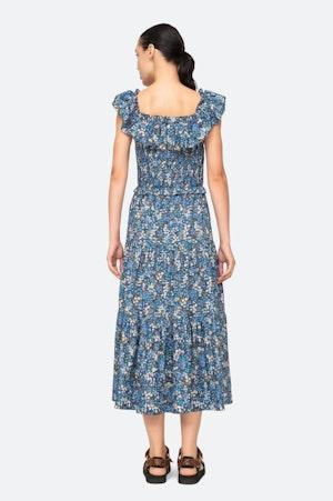 Lissa Ruffle Dress by Sea - 2