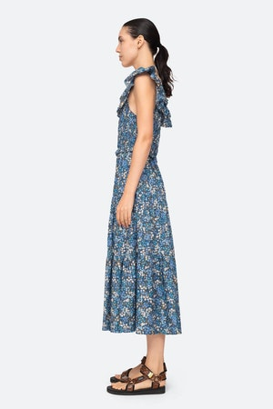 Lissa Ruffle Dress by Sea - 3