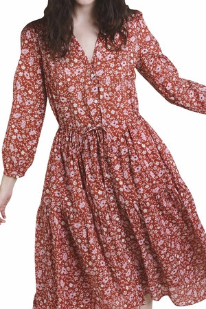 Ainsley Dress ROSE FLORAL by Trovata - 1
